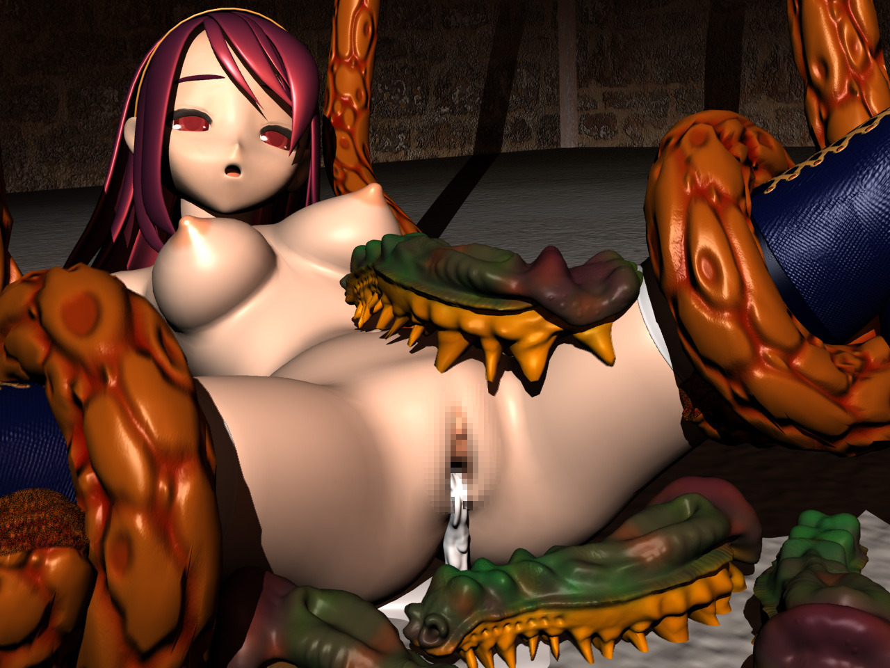 Monster cartoon video image xx nude scene